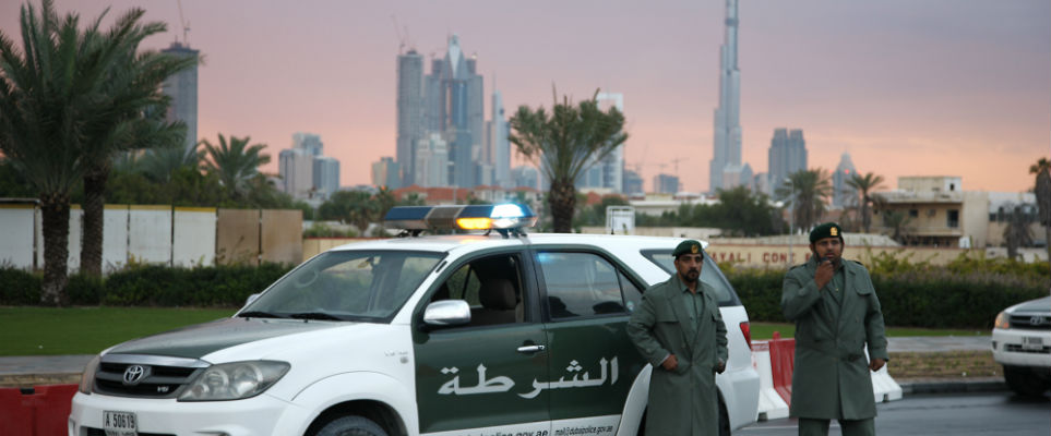 DUBAI TRAFFIC ACCIDENT REPORT VIA SMS